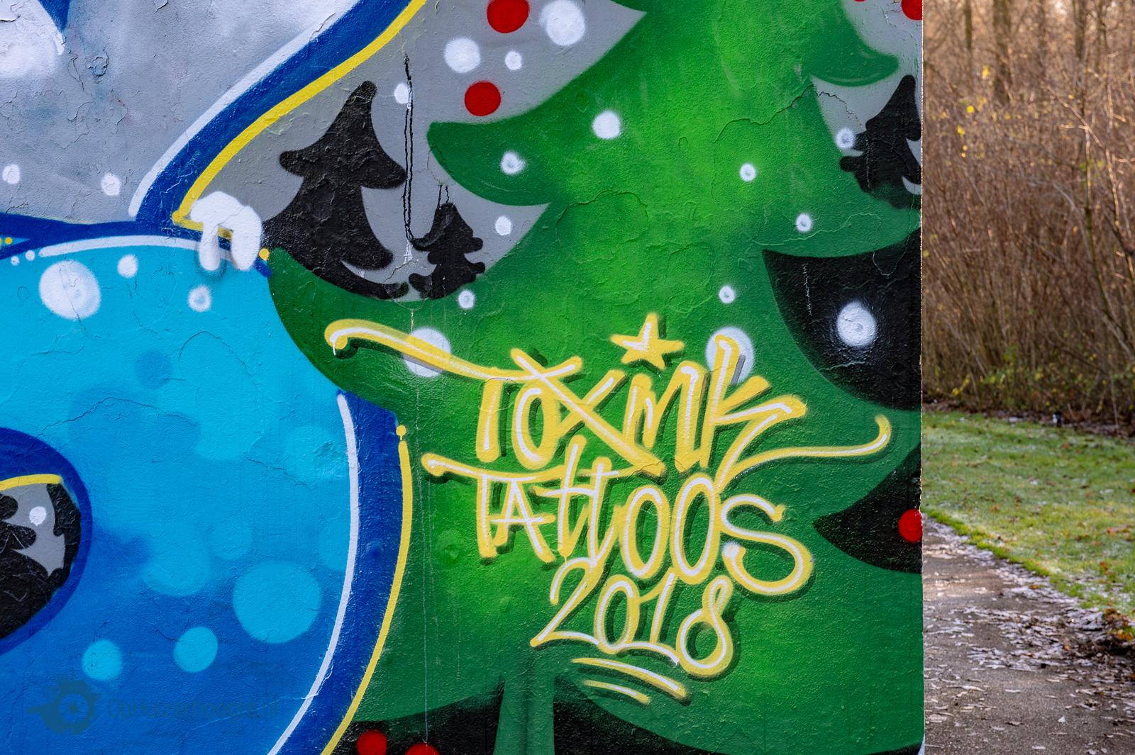 Huizen graffity