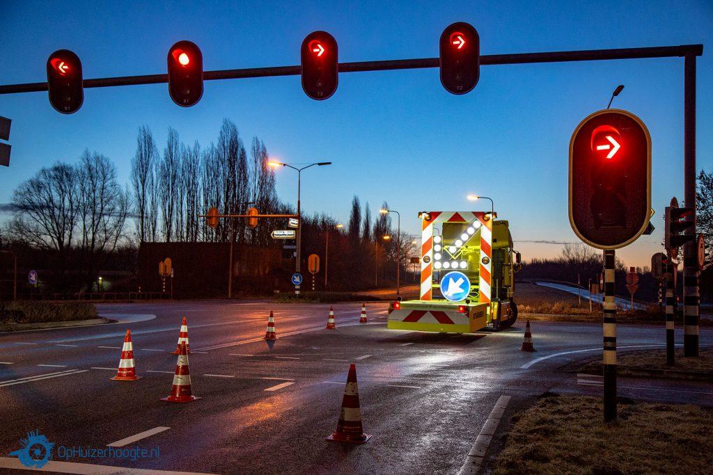 snelweg afgesloten