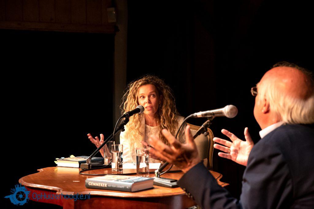 Roxane van Iperen en Ad van Liempt