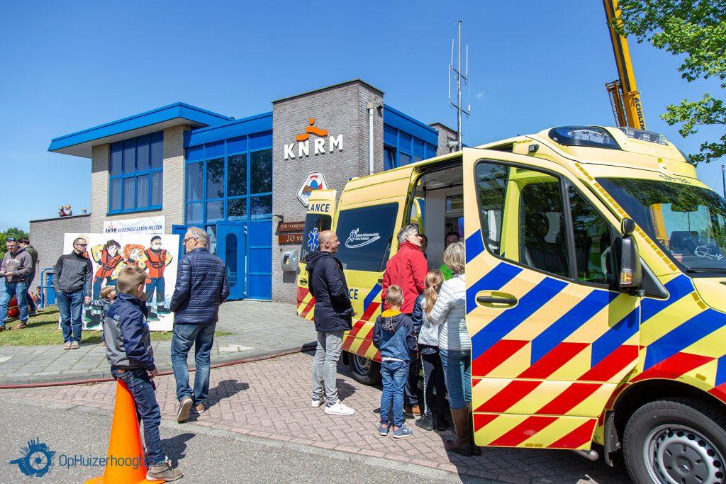 KNRM 2019 Huizen ambulance