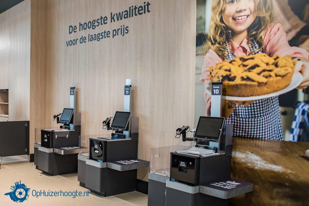 Nieuwe winkel Lidl Huizen