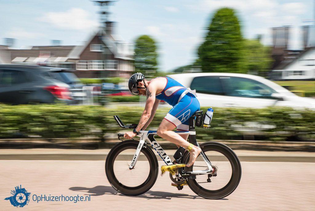 Triathlon Huizen: fietsonderdeel