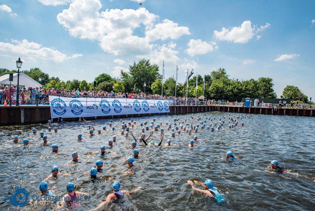 Triathlon Huizen: zwemonderdeel