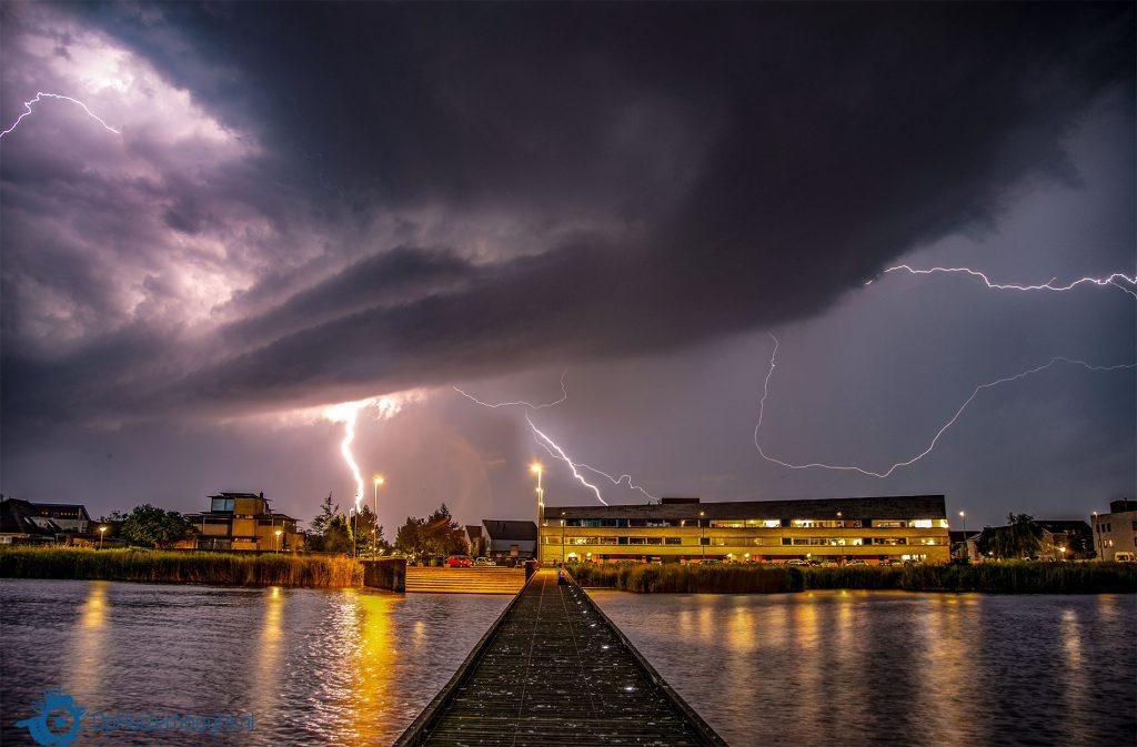 bliksem onweer