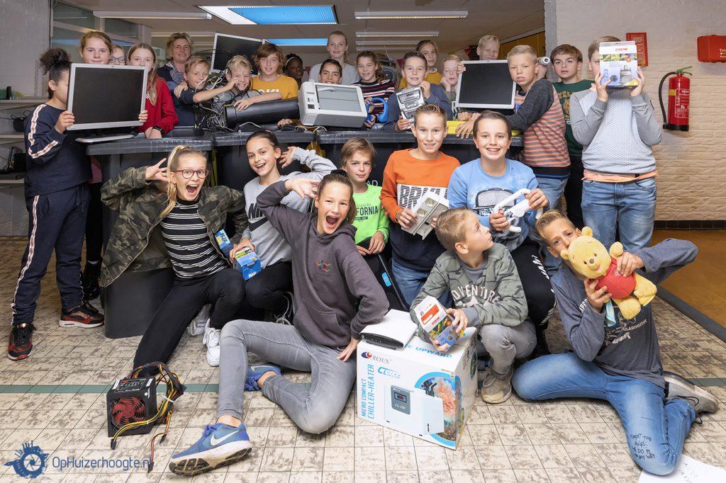 Rehobothschool e-waste