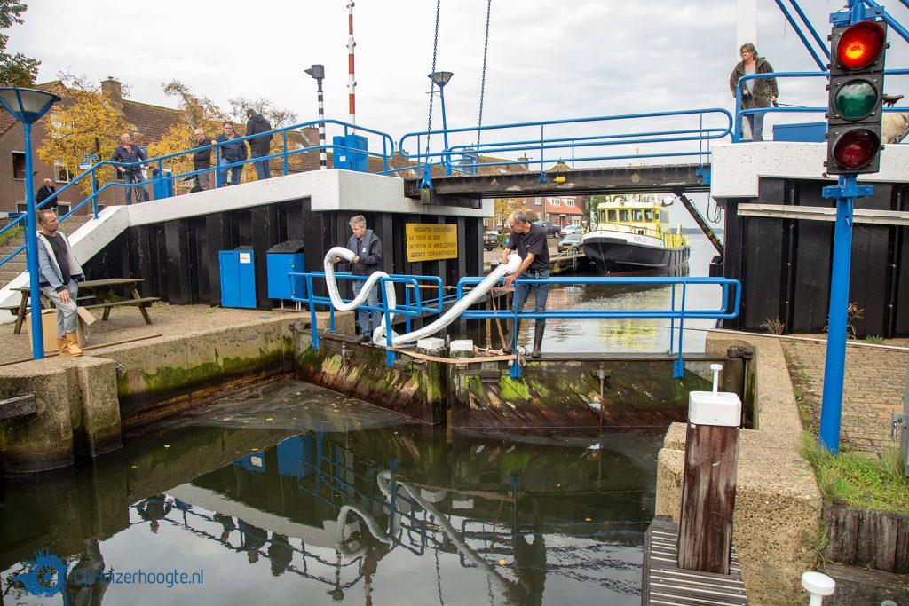 Oliespoor Aanloophaven Huizen