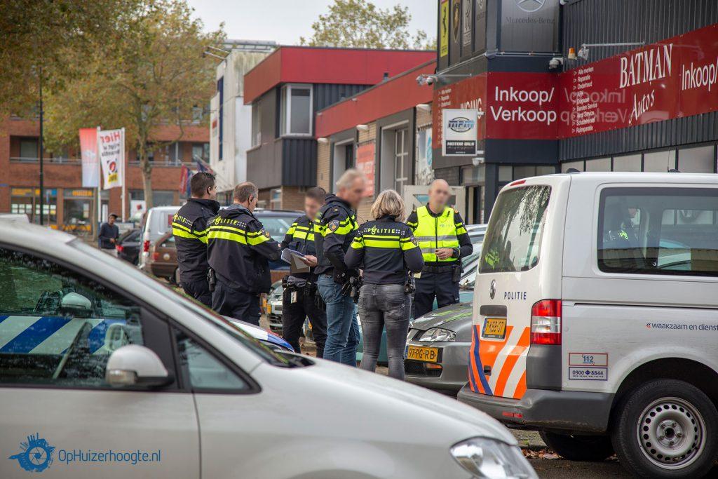 Invallen politie Huizen