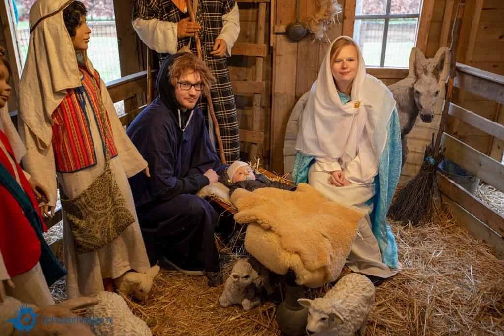 Kerststal Kombuis Huizen