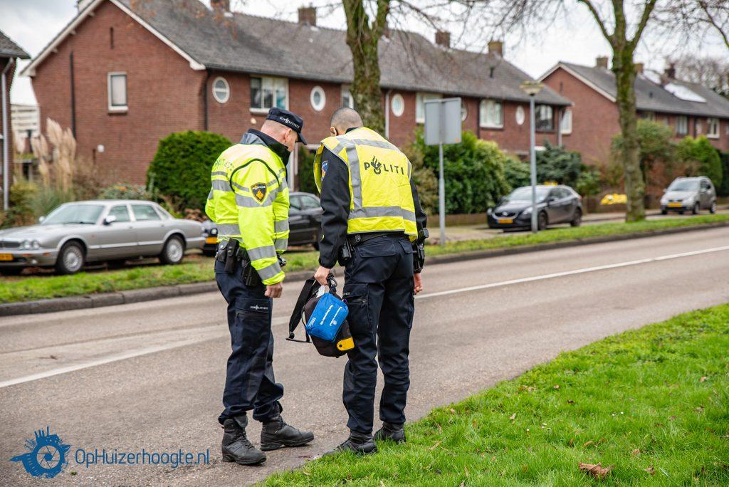Fietser ongeval Karel Doormanlaan Huizen