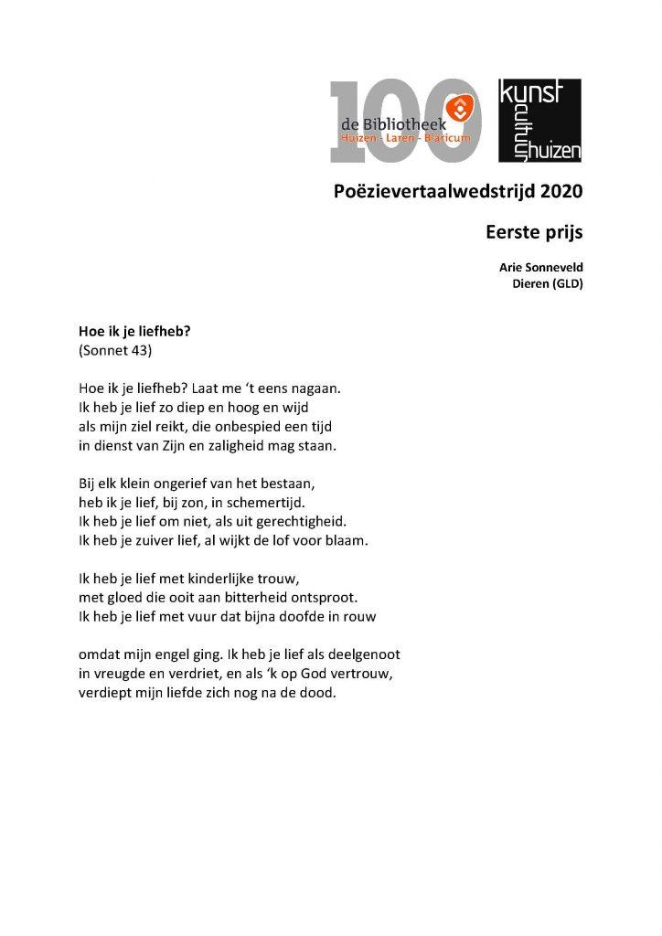 Poëzie-avond De Boerderij Huizen,