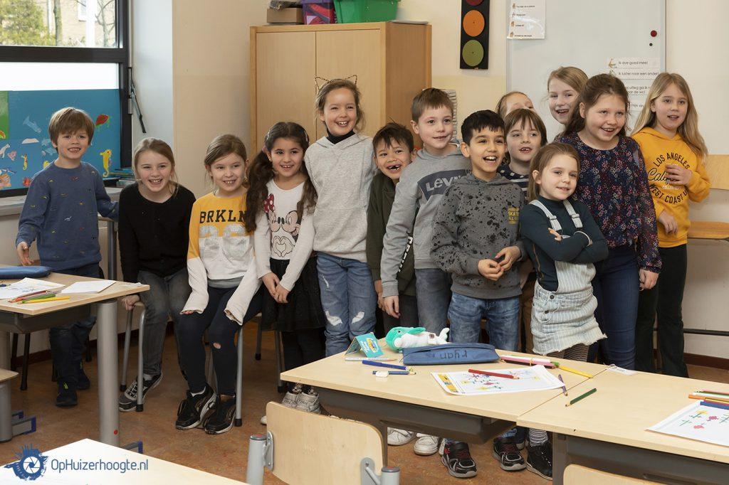 Huizen, Niek Meijer, Burgemeester, Beatrixschool