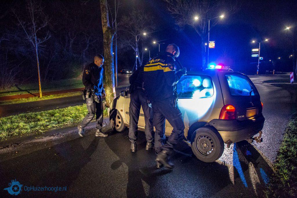 Politieachtervolging Huizen