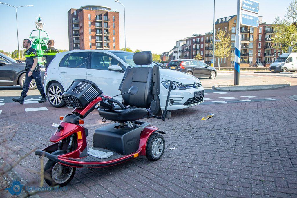 Ongeval scootmobiel Huizen