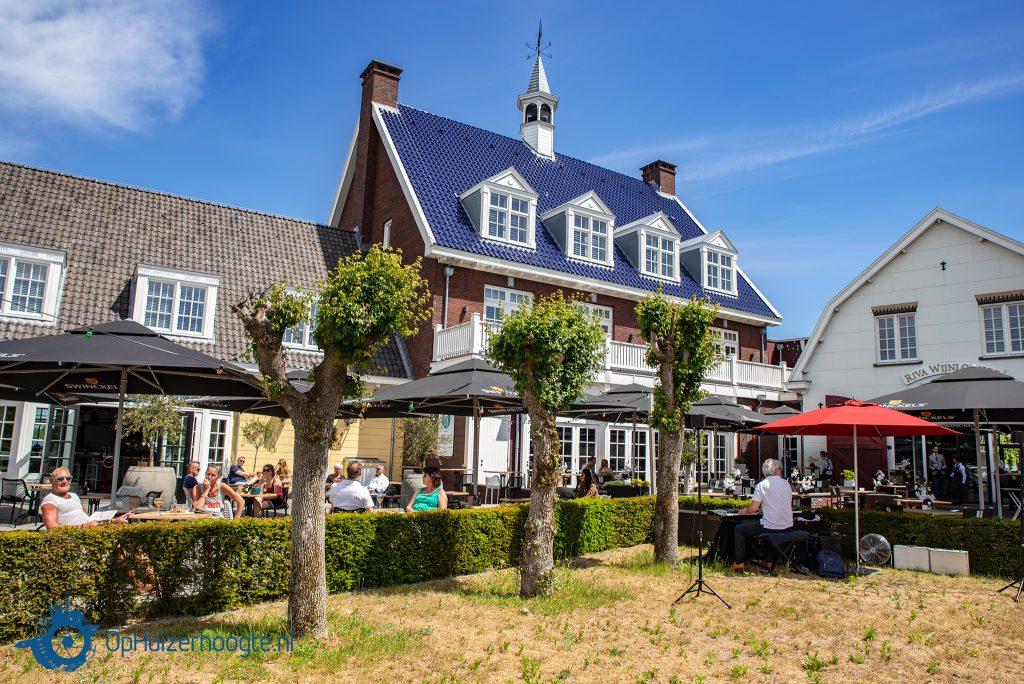 Terrassen Huizen open
