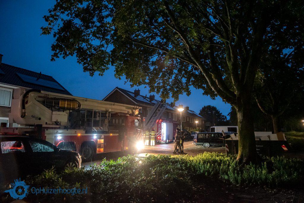 Stormschade Johan Evertsenstraat Huizen
