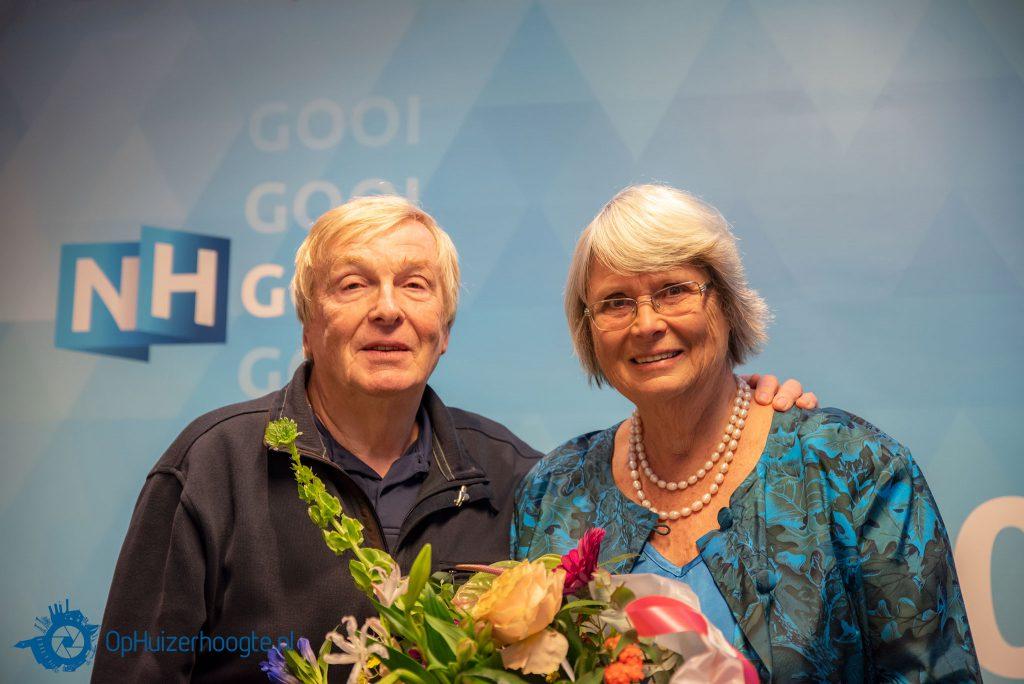 Hans de Wildt met zijn vrouw