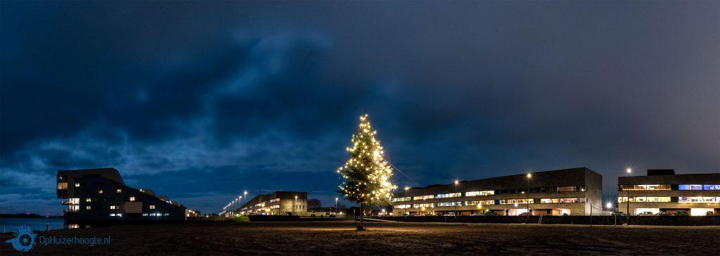 Panorama kerstboom Harderwijkerzand