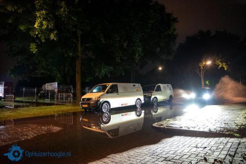 Noodweer boven Huizen - IJsselmeerstraat